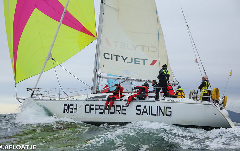 The National Yacht Club's Conor Totterdell is co-skippering Irish Offshore Sailing Schools Sunfast 37, 'Desert Star'