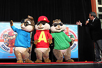 Alvin and Chipmunks HandFoot Print Ceremony 2011