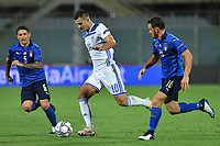 Amer Gojak of Bosnia during the Uefa Nation League Group Stage A1 football match between Italy and Bosnia at Artemio Franchi Stadium in Firenze (Italy), September, 4, 2020. Photo Massimo Insabato / Insidefoto