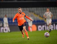 4th November 2020, Basaksehir Fatih Stadium, Istanbul, Turkey; UEFA Champions League football,  Basaksehir versus manchester United;   Edin Visca of Basaksehir
