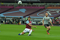 Fabian Balbuena clears a cross during West Ham United vs Charlton Athletic, Caraboa Cup Football at The London Stadium on 15th September 2020