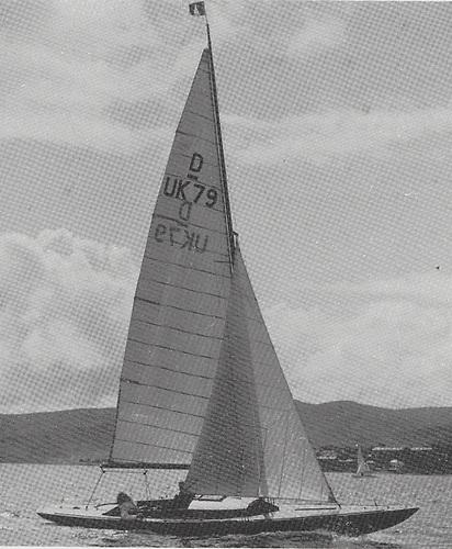 Ashaka – first Irish winner in 1953 of the Edinburgh Cup