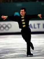 Elvis Stojko Canada 2002 Olympics Salt Lake. Photo copyright Eileen Langsley.