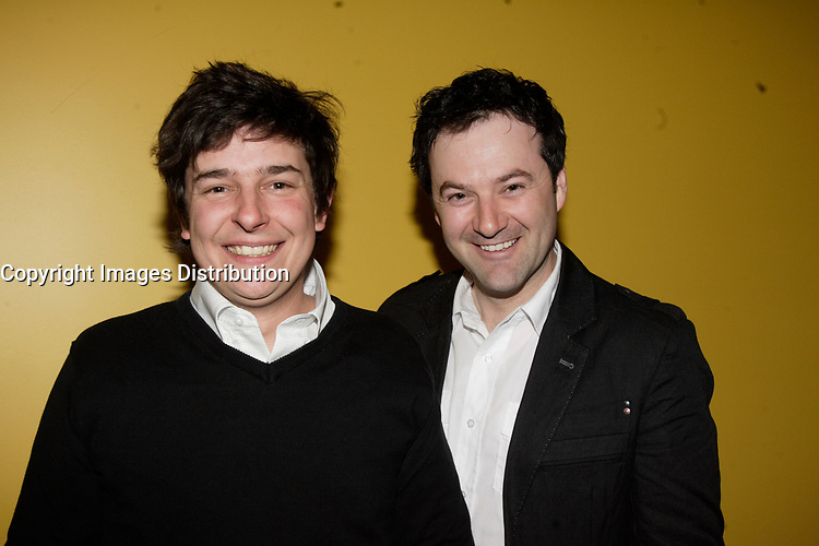 Montreal (Qc) Canada, May 3rd 2007<br /> <br /> Maxim Tremblay (L), Boudreau<br /> at the red carpet  event to celebrate that<br /> Paramount become Scotia Bank Cinema<br /> <br /> photo : Pierre Roussel (c)  Images Distribution
