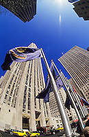 New York. Rockefeller Plaza. Manhattan. United States of America.