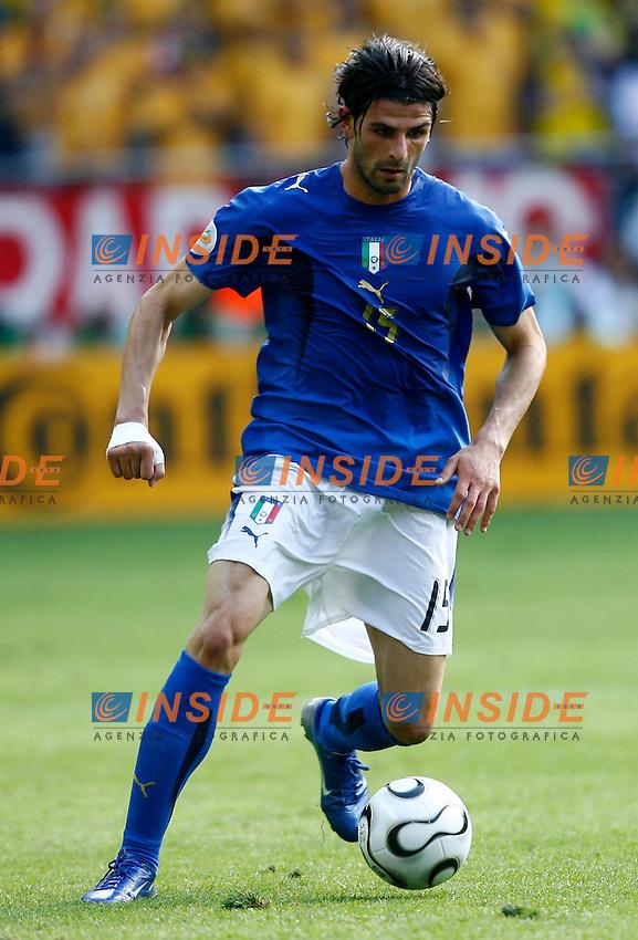Kaiserslautern 26/6/2006 World Cup 2006 Ottavi di finale Italia Australia 1-0.Photo Andrea Staccioli Insidefoto.Vincenzo Iaquinta Italia.