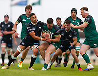 4th June 2021; Galway Sportsgrounds, Galway, Connacht, Ireland; Rainbow Cup Rugby, Connacht versus Ospreys; Peter Sullivan holds on to the ball for Connacht