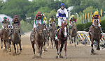 Shackleford, Jesus Lopez Castanon up, wins the136th running of the Preakness Stakes at Pimlico Race Course, May 21, 2011. (Joan Fairman Kanes/Eclipsesportswire)