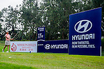 Branding at Golf Course during the Hyundai China Ladies Open 2014 practice day on December 11 2014, in Shenzhen, China. Photo by Li Man Yuen / Power Sport Images
