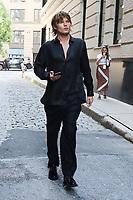 NEW YORK, NY- September 08: Jordan Barrett seen at NYFW SS/2022 at Spring Studios in New York City September 08, 2021. <br /> CAP/MPI/RW<br /> ©RW/MPI/Capital Pictures