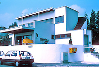 Stuttgart: Weissenhofsiedlung. Hans Scharoun, single family house, Rathenaurstr.