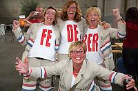 15-09-12, Netherlands, Amsterdam, Tennis, Daviscup Netherlands-Suisse, Afterpartij