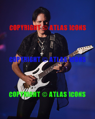 FORT LAUDERDALE, FL - NOVEMBER 26: Steve Vai performs at The Parker Playhouse on November 26, 2016 in Fort Lauderdale Florida. Credit Larry Marano © 2016