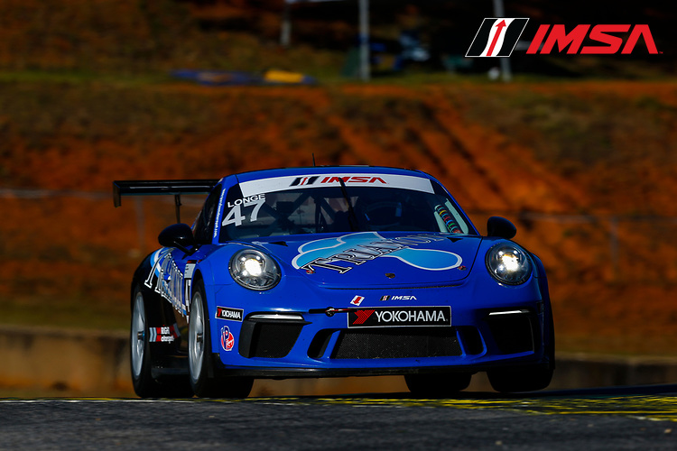 IMSA Porsche GT3 Cup Challenge USA<br /> Road Atlanta<br /> Road Atlanta, Braselton GA<br /> Wednesday 4 October 2017<br /> 47, Andrew Longe, GT3P, USA, 2017 Porsche 991<br /> World Copyright: Jake Galstad<br /> LAT Images