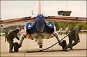 -2008-Salon de Provence- Patrouille de France, juste avant le décollage.