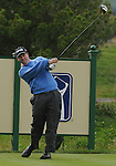 3 October 2008: Charles Warren tees of during the second round at the Turning Stone Golf Championship in Verona, New York.