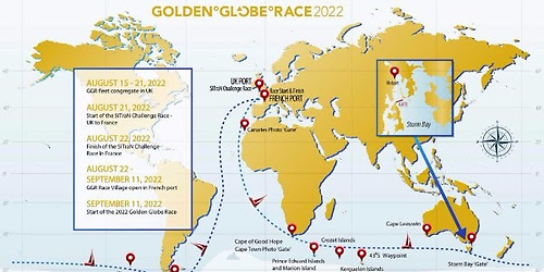 Golden Globe Race 2022 Chart