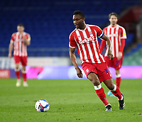 16th March 2021; Cardiff City Stadium, Cardiff, Glamorgan, Wales; English Football League Championship Football, Cardiff City versus Stoke City; Mikel John Obi of Stoke City on the ball