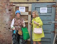 06-02-12 Empire The Series 1 of 2 shoots on set - Tina Sloan, Ellen Dolan  -  Greg Turner creator
