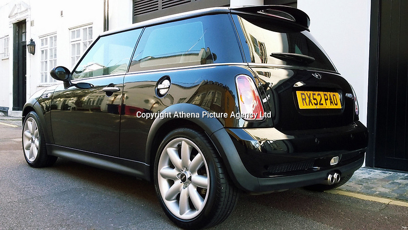 COPY BY TOM BEDFORD<br /> Pictured: The black BMW Mini once owned and driven in London by Madonna<br /> Re: A BMW Mini car once owned and driven by pop singer Madonna is up for sale on auction site ebay.<br /> Ordered new by Madonna L Ciccone and registered to The Ciccone 1989 Trust in 2002. This Mini Cooper S was used as a runabout by Madonna when she was living in the UK and married to Guy Ritchie. <br /> The seller says that there are several paparazzi photos of Madonna nipping around London in the Mini carrying out school runs with her daughter or heading off to the recording studio. Even the previous destinations logged in the sat nav still contain several Madonna related destinations. <br /> The Mini even gets mentioned in the lyrics of her 'American Life' track in verse 5 with Madonna singing 'I drive my Mini Cooper, and I'm feeling super-dooper'. <br /> The history file contains several documents such as the V5 and old insurance documents with Madonna and Guy Ritchie's names recorded.<br /> After four years of use by Madonna the Mini was then sold onto her personal driver who then stored the car away. Having only covered 25,000 miles and in pristine original condition this piece of Madonna memorabilia has the potential to become a very valuable piece of music history.