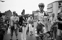 Kenny Dehaes (BEL) at the start in Halle<br /> <br /> Halle - Ingooigem 2013<br /> 197km