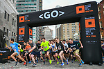 The Extra Mile 2018 -  Start of the New York race on 3 May 2018, in New York, USA. Photo by Enrique Shore / Power Sport Images