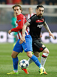 Atletico de Madrid's Antoine Griezmann (l) and Bayer 04 Leverkusen's Roberto Hilbert during Champions League 2016/2017 Round of 16 2nd leg match. March 15,2017. (ALTERPHOTOS/Acero)