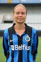 Club Brugge Vrouwen : Eva Van Daele<br /> foto David Catry / nikonpro.be