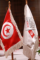 Nabil Baffoun, head of Tunisia's Independent High Authority for Elections (ISIE)<br /> <br /> PHOTO : Agence Quebec Presse -