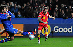 260313 Wales v Croatia football