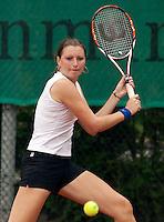 12-8-09, Den Bosch,Nationale Tennis Kampioenschappen, 1e ronde,  Marrit Boonstra  S