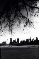 Manhattan skyline from Central Park<br />