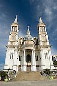 Ilheus, Bahia State, Brazil. Cathedral of Sao Sebastiao (St Sebastian).