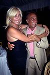 MARA VENIER CON EMILIO FEDE<br /> FESTA PER I 60 ANNI DI MAURIZIO COSTANZO<br /> MANEGGIO DI GIANNELLA  1998