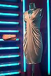 Dress designed by Christian Dior, New York, New York