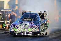 May 4, 2012; Commerce, GA, USA: NHRA funny car driver Bob Bode during qualifying for the Southern Nationals at Atlanta Dragway. Mandatory Credit: Mark J. Rebilas-