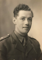 BNPS.co.uk (01202) 558833<br /> Pic: Tennants/BNPS<br /> <br /> Captain Harry Witheford. <br /> <br /> A British prisoner of war's drawings and photographs of the building of the notorious 'Death Railway' in Burma have sold for £5,000.<br /> <br /> Captain Harry Witheford's accomplished sketches highlight the horrific ordeal endured by the captured soldiers at the hands of their Japanese captors in World War Two.<br /> <br /> The so-called Death Railway along the River Kwai claimed the lives of 12,000 Allied PoWs who were subjected to forced labour during its construction.