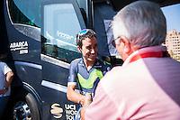 Castellon, SPAIN - SEPTEMBER 7: Jose Herrada during LA Vuelta 2016 on September 7, 2016 in Castellon, Spain