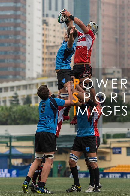 Canada vs Namibia during the Day 1 of the IRB Junior World Rugby Trophy 2014 at the Hong Kong Football Club on April 7, 2014 in Hong Kong, China. Photo by Aitor Alcalde / Power Sport Images