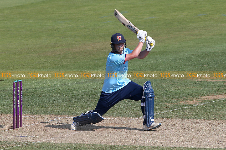 Tom Westley hits 4 runs for  Essex during Hampshire Hawks vs Essex Eagles, Royal London One-Day Cup Cricket at The Ageas Bowl on 22nd July 2021
