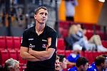 Jens Buerkle (Trainer HBW Balingen) beim Spiel HSG Konstanz – HBW Balingen-Weilstetten beim BGV Handball Cup 2020.<br /> <br /> Foto © PIX-Sportfotos *** Foto ist honorarpflichtig! *** Auf Anfrage in hoeherer Qualitaet/Aufloesung. Belegexemplar erbeten. Veroeffentlichung ausschliesslich fuer journalistisch-publizistische Zwecke. For editorial use only.