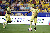 Harrison, NJ - Wednesday July 06, 2016: Carlos Quintero during a friendly match between the New York Red Bulls and Club America at Red Bull Arena.