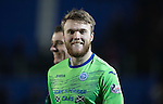 St Johnstone v Stenhousemuir…21.01.17  McDiarmid Park  Scottish Cup<br />A happy Zander Clark at full time<br />Picture by Graeme Hart.<br />Copyright Perthshire Picture Agency<br />Tel: 01738 623350  Mobile: 07990 594431