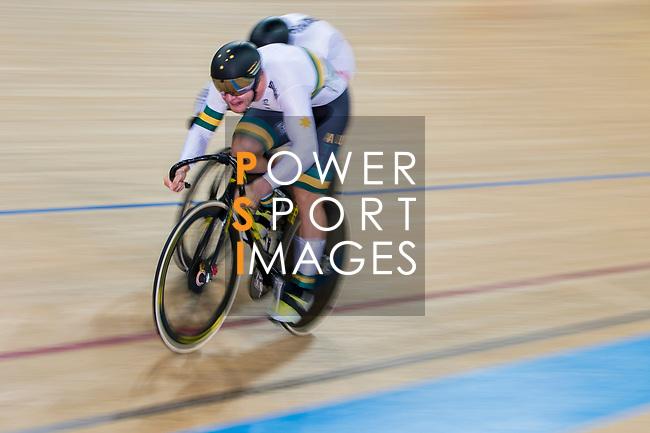 Men's Sprint 1/16 Finals as part of the 2017 UCI Track Cycling World Championships on 14 April 2017, in Hong Kong Velodrome, Hong Kong, China. Photo by Marcio Rodrigo Machado / Power Sport Images