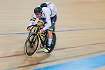 Men's Sprint 1/16 Finals as part of the 2017 UCI Track Cycling World Championships on 14 April 2017, in Hong Kong Velodrome, Hong Kong, China. Photo by Marcio Rodrigo Machado / Power Sport Images