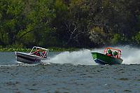 "JS-99 ""Veri Cheri Too"" and JS-100   (Jersey Speed Skiff(s)"