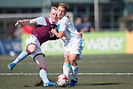Aston Villa (in purple) vs Olympique Marseille (in white) during their Main Tournament Cup Semi-Final match, part of the HKFC Citi Soccer Sevens 2017 on 28 May 2017 at the Hong Kong Football Club, Hong Kong, China. Photo by Marcio Rodrigo Machado / Power Sport Images