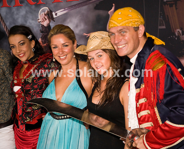 **ALL ROUND PICTURES FROM SOLARPIX.COM**.**WORLDWIDE SYNDICATION RIGHTS**.The Pirate Charity Event held in Majorca with stars of Coronation Street lending a hand in aid of Great Ormond Street Children's Hospital..This pic:    Claire Sweeny & Brooke Vincent with the cast of Pirates..JOB REF:    11188    WUN       DATE:   01.05.10.**MUST CREDIT SOLARPIX.COM OR DOUBLE FEE WILL BE CHARGED**.**MUST NOTIFY SOLARPIX OF ONLINE USAGE**.**CALL US ON: +34 952 811 768 or LOW RATE FROM UK 0844 617 7637**