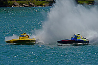 """Frame 17: Andrew Tate, H-300 """"Pennzoil"""", Donny Allen, H-14 """"Legacy 1""""       (H350 Hydro)"""