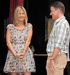 Jennifer Aniston and her publicist  Steven Huvane at The Jennifer Aniston Hand and Footprints Ceremony held at The Grauman's Chinese Theatre in Hollywood, California on July 07,2011                                                                               © 2011 DVS / Hollywood Press Agency